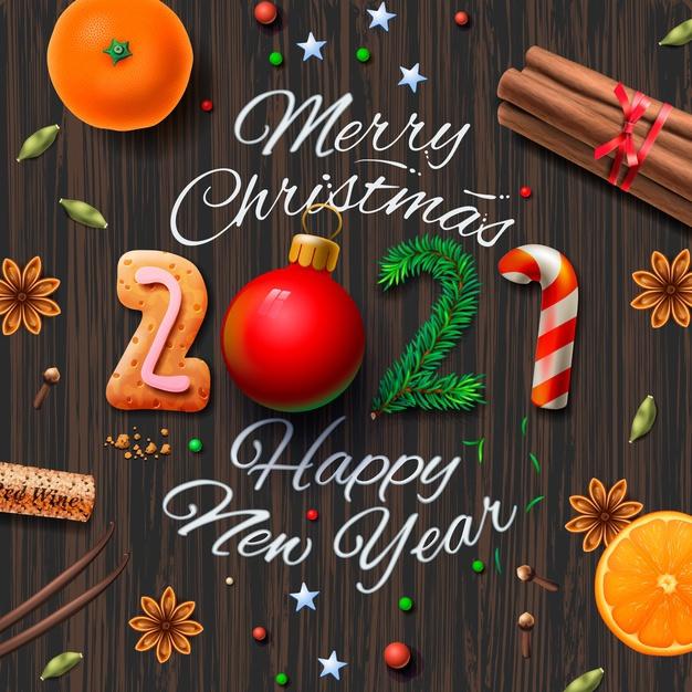 С Новым годом и Рождеством 2021