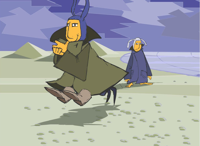 Ежи и Петруччо
