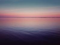 Розоватое море