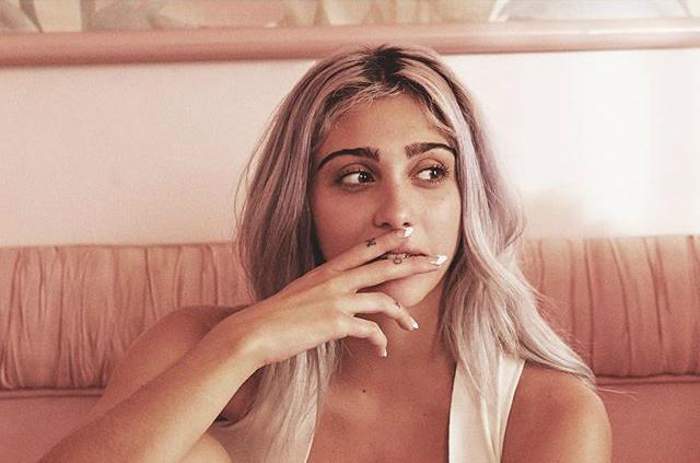 Лурдес Леон в рекламі Stella McCartney