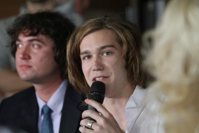 Міка Ньютон прес-конференція