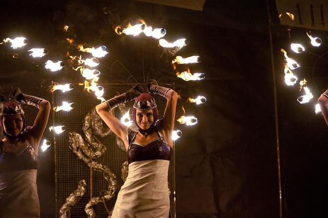 Киев Фаер Фест 2012: театр огня в Киеве