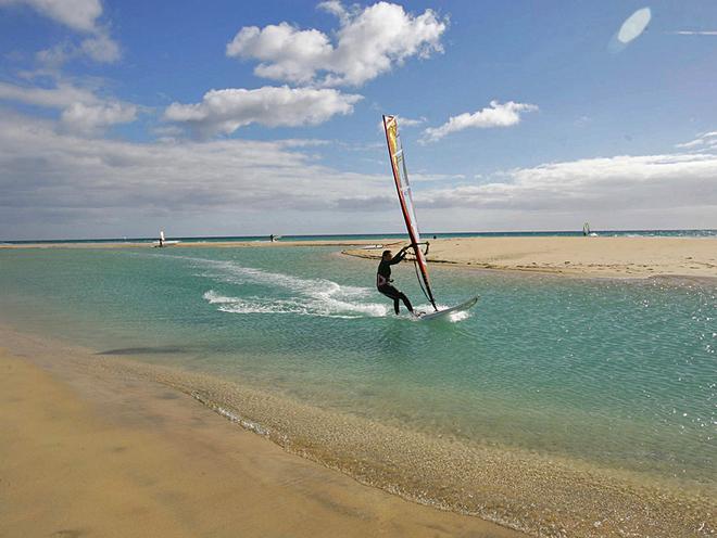 Канарские острова: серфинг, Фуэрвентура
