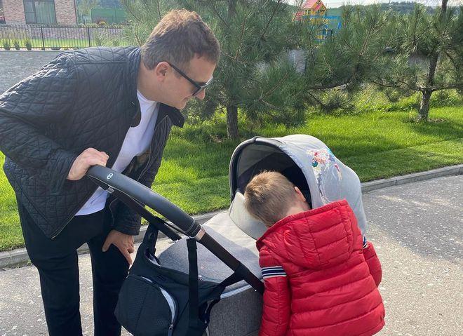 Юрій Горбунов з дітьми