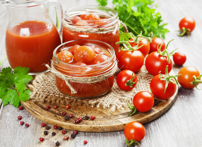 помидоры на зиму в собственном соку без стерилизации