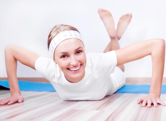 Фитнес дома - удобно и весело, если привечь  близких