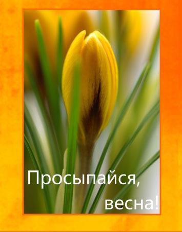 Просыпайся, весна!