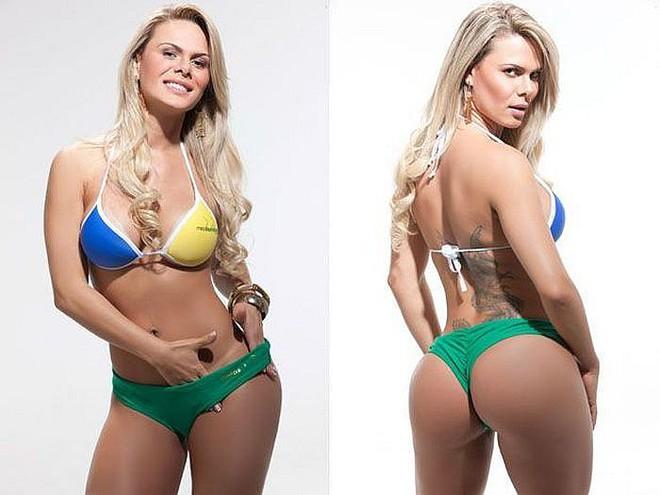 Лучшие попы Бразилии