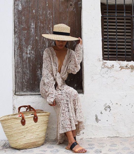 Соломенная шляпа весна-лето 2018