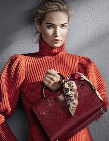 Дженнифер Лоуренс в рекламной кампании Dior