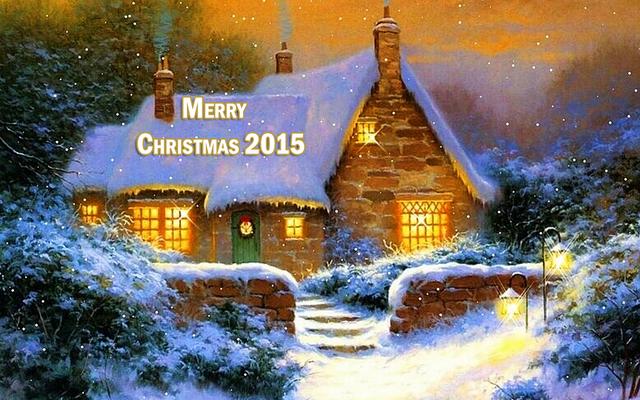 Волшебные пейзажи на Рождество 2015
