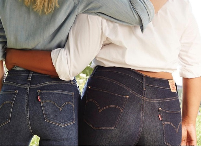 Скандальні джинси від Levi's