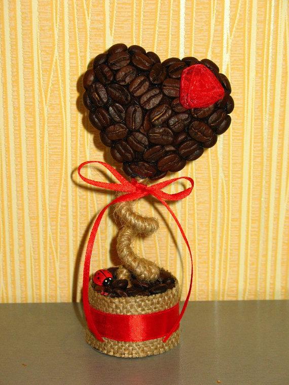 Дерево своими руками с кофейными зернами своими руками