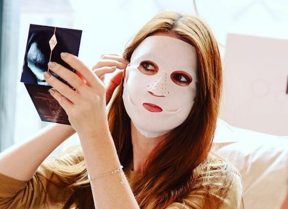 Сухая маска для кожи лица