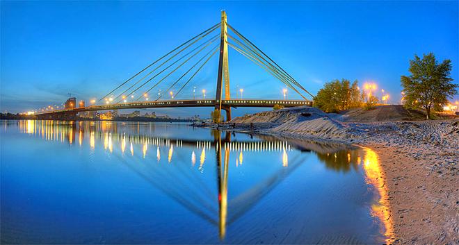 Мосты Украины: Киев, Московский мост