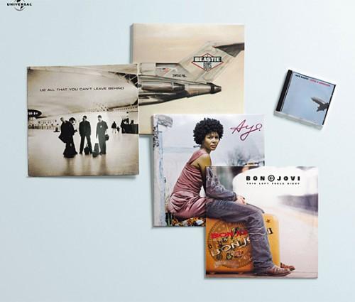 креативный микс культовых альбомов WOW