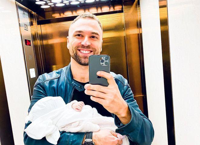 Макс Михайлюк с дочерью