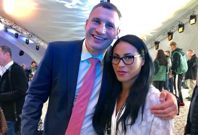 Володимир Кличко та Сессилія