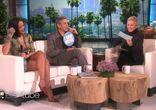 RIHANNA on the Ellen Show w- CLOONEY