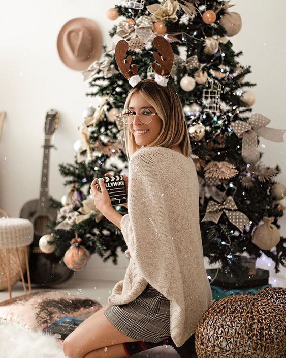 Новогодний дресс-код: в чем встречать год Белой крысы, если ты остаешься дома