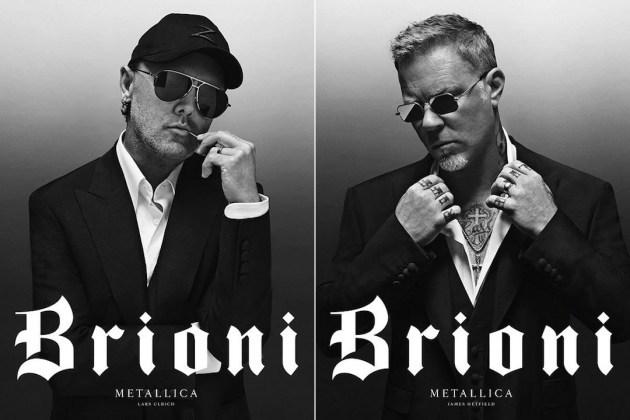 Metallica знялася в рекламній кампанії для Brioni