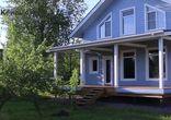 Заказать каркасный дом.  Строительство. Монтаж имитации бруса. 14 част