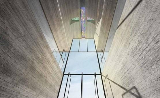В Эгейском море на отвесной скале построят стеклянную церковь-крест