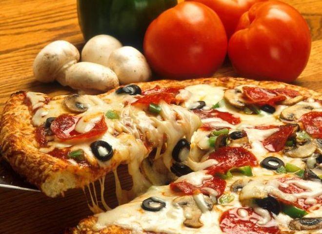 Как приготовить пиццу с курицей, пицца