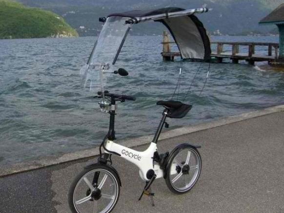 велосипед дождь