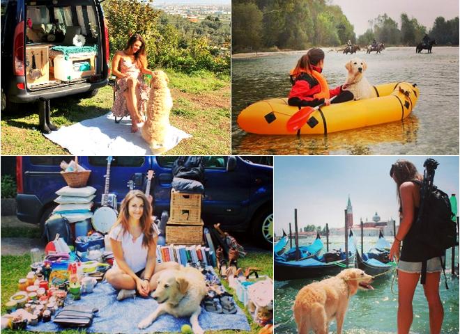 Follow me: як італійка подорожує з собакою в будинку на колесах