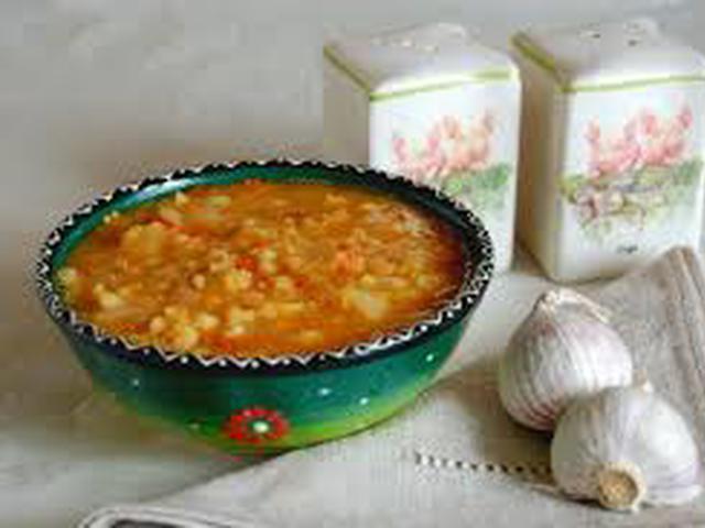 Суп с булгуром