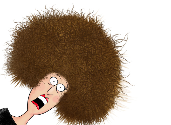 електризоване волосся