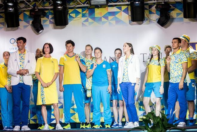 Андре Тан представив олімпійську форму для української збірної на Ігри ХХХІ Олімпіади 2016