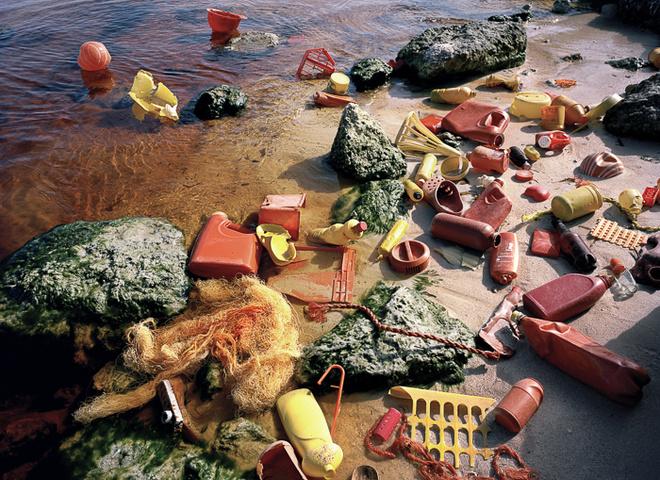 Сміттєвий арт: художник створює інсталяції зі сміття, знайденого на березі океану