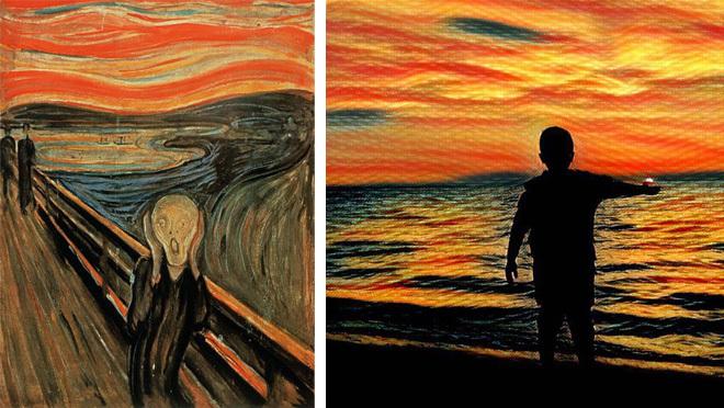 Prisma VS великі художники: знайди 7 відмінностей