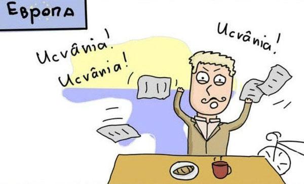 Комикс про новости в разных странах