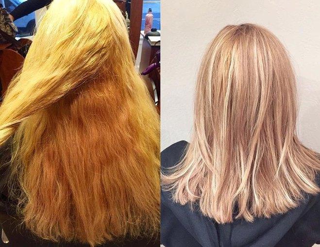 Как мы будем красить волосы в 2017 году - окрашивание блоранж