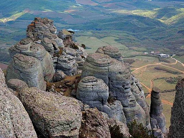 Україна аномальна: гора Демерджи - Крим