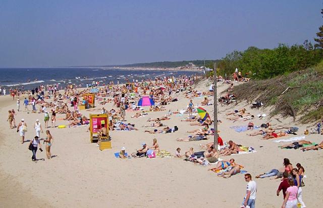 Лучшие пляжи Балтийского моря: пляжи Паланги, Литва
