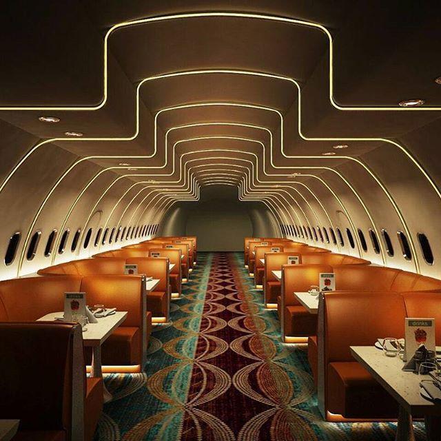 В Індії пасажирський літак перетворили на стильний ресторан