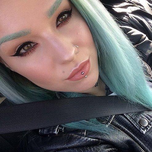Радужные брови