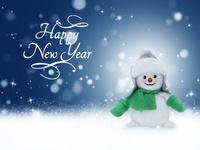 Милые обои к Новому году