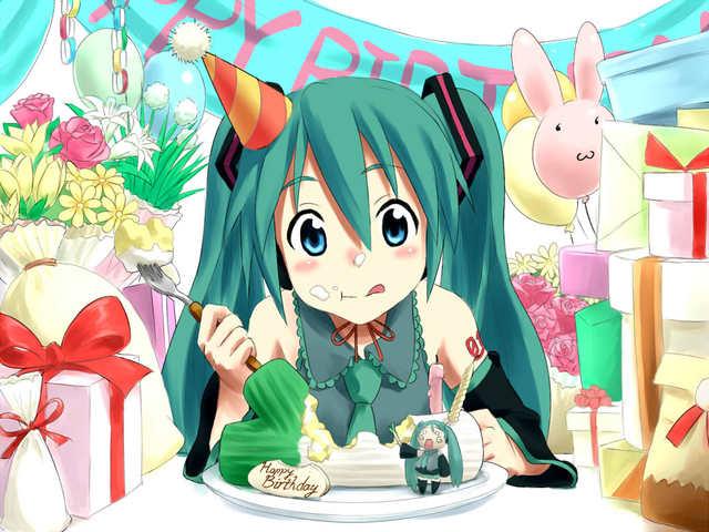 Аниме с Днем рожденья!
