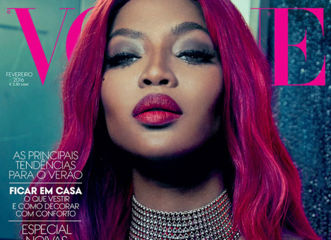 Наоми Кэмпбелл для Vogue Portugal