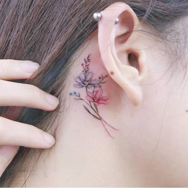 Подборка нежных и милых татуировок