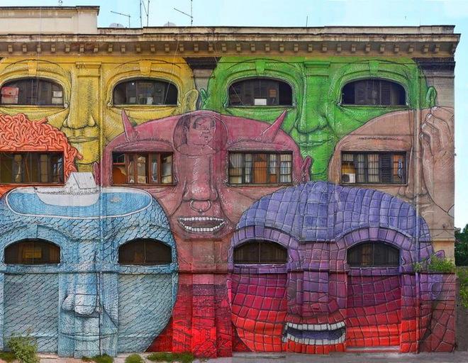Інший Рим: з покинутих будівель на витвір мистецтва