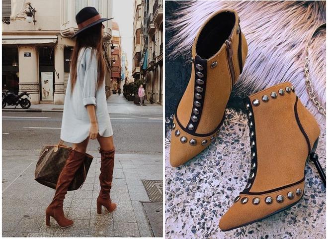Модная обувь на осень 2018