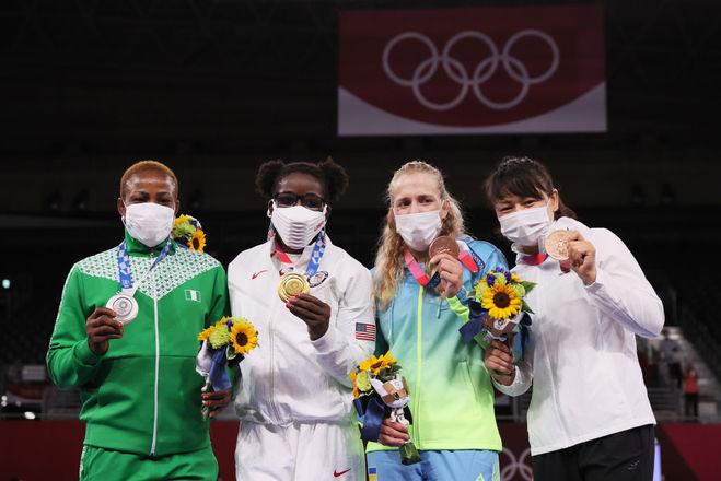 Алла Черкасова, Олімпіада 2020