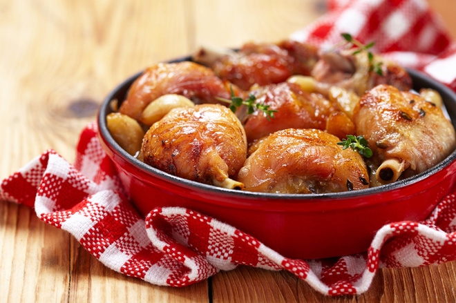 Гарячі страви на Новий рік 2016: рецепти з курячих ніжок
