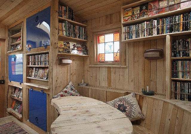 Оригінальні будинку на колесах: Morison House Truck Art Piece